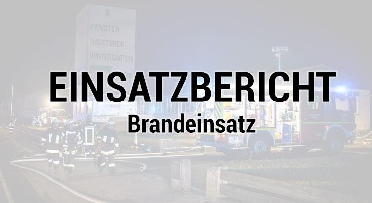 Feuerwehr Steinau Ulmbach Brandeinsatz